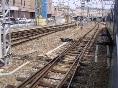 長野駅間近