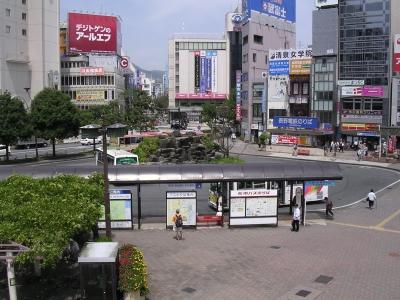 長野駅善光寺駅ロータリー