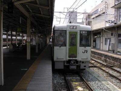 長野駅飯山線直通列車