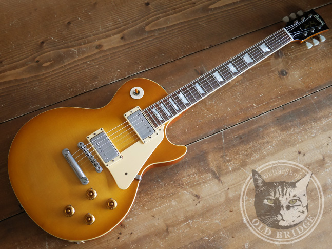 バーニー スーパーグレード レスポール guitar shop old bridge blog