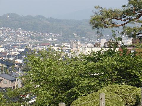 兼六園からの金沢市街