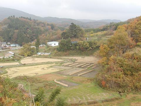 都路町岩井沢付近