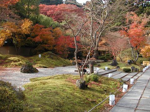 円通院の庭園