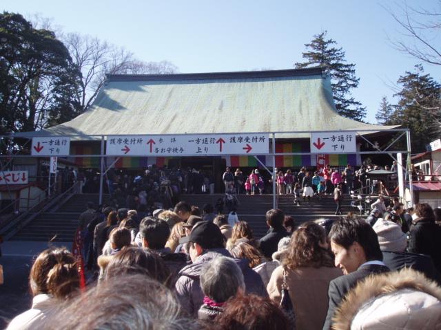 初詣 喜多院