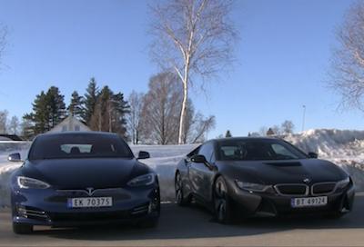 Bmw I8 Vs Tesla Model S 75d Bmwおたっきーず Blog Bmw総合情報ブログ