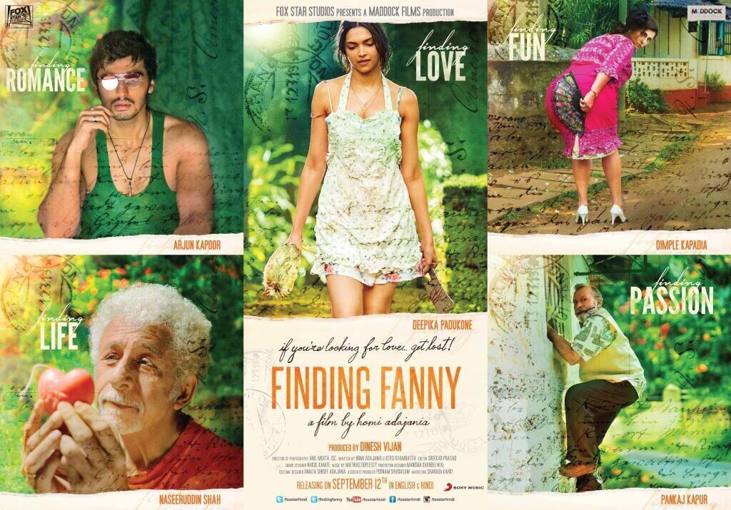 finding fanny インド