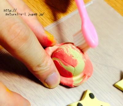 新発売の軽量粘土を使ってフェイクスイーツづくり!