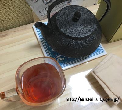 南部鉄器の鉄瓶兼急須