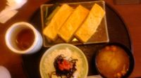 玉子焼き定食(おざわ)