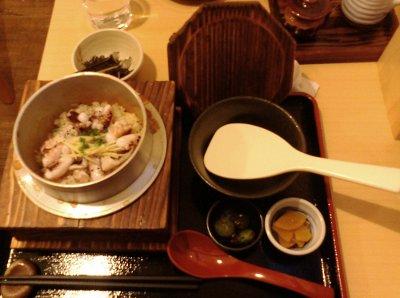 「鎌倉釜飯 かまかま」の「たこめし」