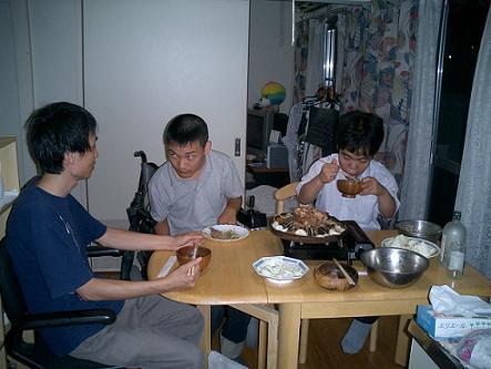 奥田邸 晩餐