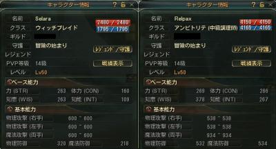 Lv50ステ比較