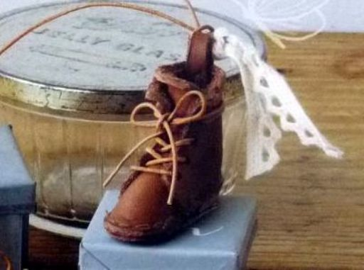 革のブーツ