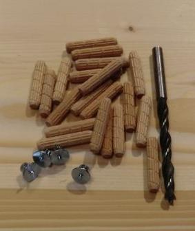 木工用ダボセット