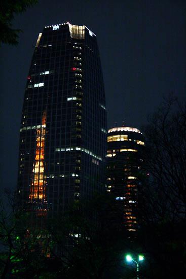 映える東京タワー