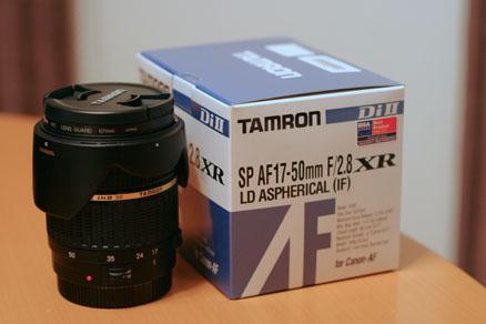 タムロンSP AF 17-50mm F2.8 XR Di II