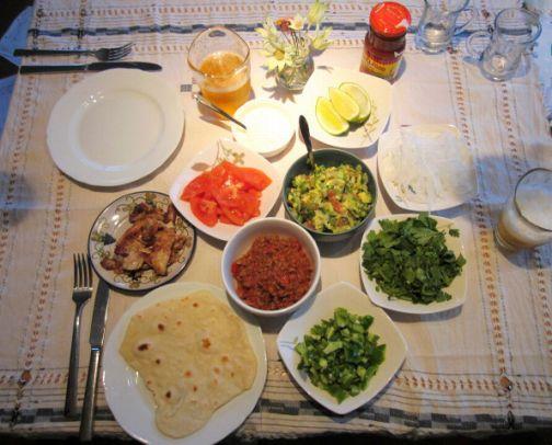 タコス料理