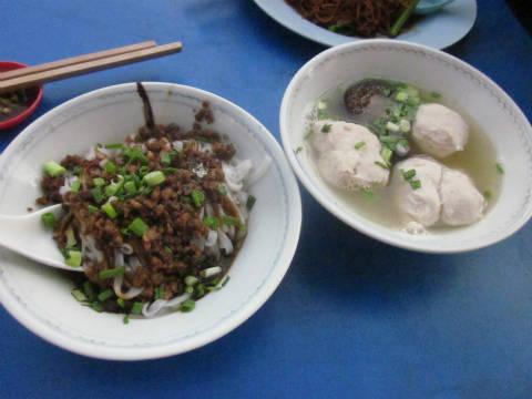 マレーシアクアラルンプール屋台料理