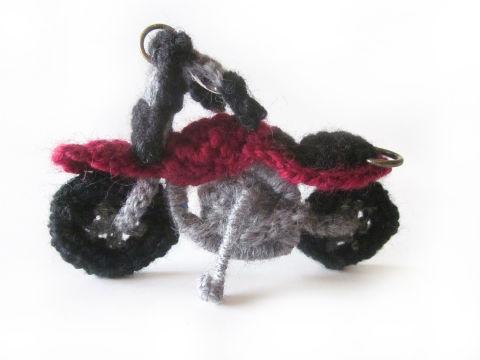 バイクの編みぐるみ