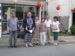 神崎にて記念撮影