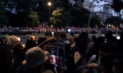 2012 7/29 国会議事堂前