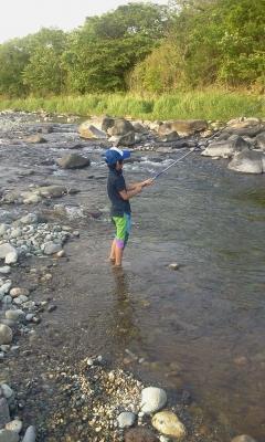 夏の那珂川 ヤマメ釣り