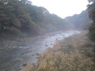 先日の台風前の那珂川 那須大橋付近