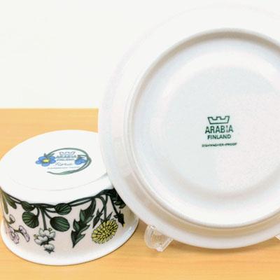 アラビア/ARABIA フローラ/FLORA ティーカップ&ソーサー