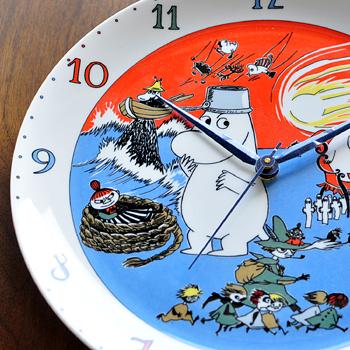 ARABIA ムーミン壁掛け時計