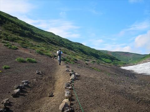 160904-11北海岳へ.JPG