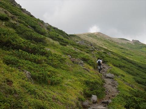 160904-16北海岳へ.JPG