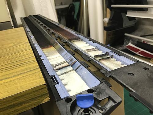 メッシュターポリン印刷機