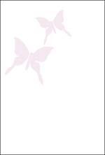 カラー挨拶はがき 「蝶」 K52