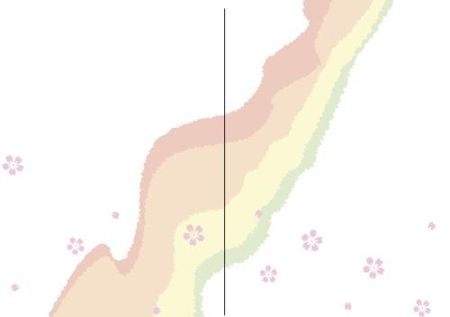 2ツ折招待状H109A