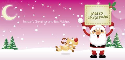 クリスマスカードMC-001a