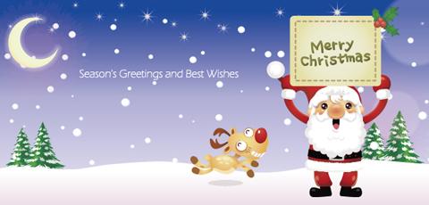 クリスマスカードMC-002a