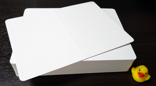 挨拶状 2ツ折カード(厚口)