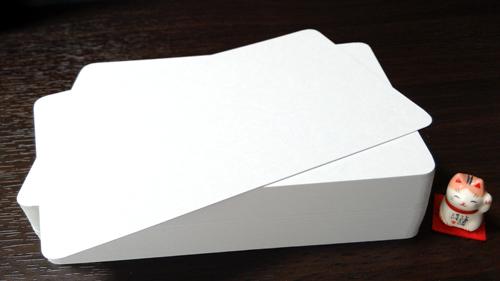 単カード(Wケント紙)