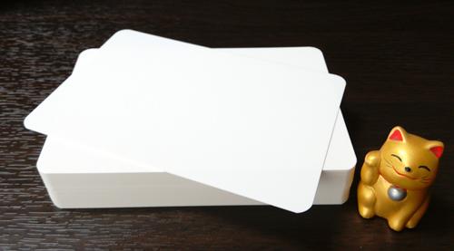 単カード(マット紙)