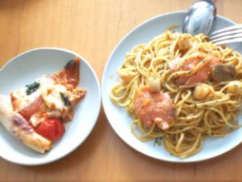 T村さんpasta&pizza