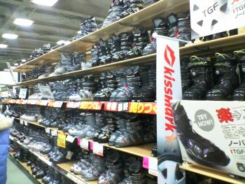 DEPO スキー用品売り場1