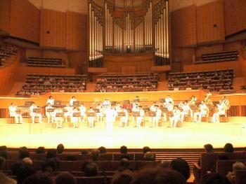 札幌市消防音楽隊の演奏