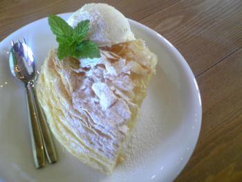 10pound cafe アップルケーキ