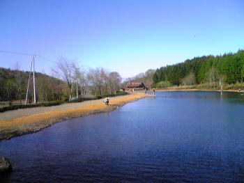 10pound 一番奥の池から