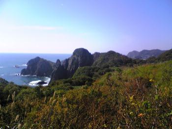 地球岬付近の風景 1
