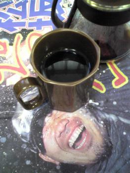 今朝のcafe