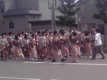 学校祭パレード 3