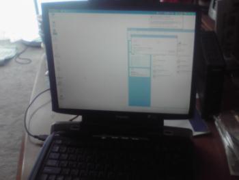 親友の東芝PC