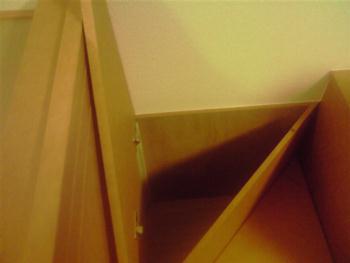 階段下の小物入れ