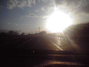 高速の短い陽の中 1